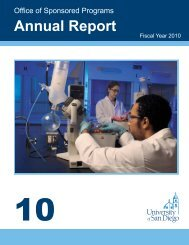 Annual Report - University of San Diego