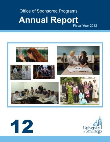 Fiscal Year Report - University of San Diego