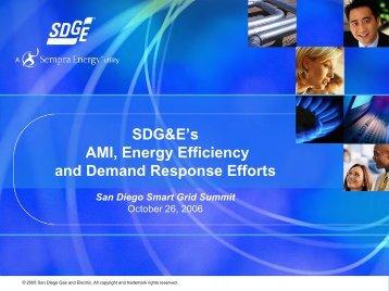 """What is AMI or """"Smart Metering""""? - University of San Diego"""