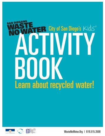 Recycled Water Activity Book - City of San Diego