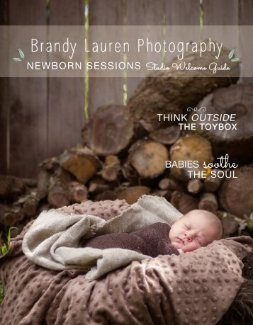 Newborn Session Welcome Guide