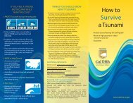How to Survive a Tsunami - Department of Conservation