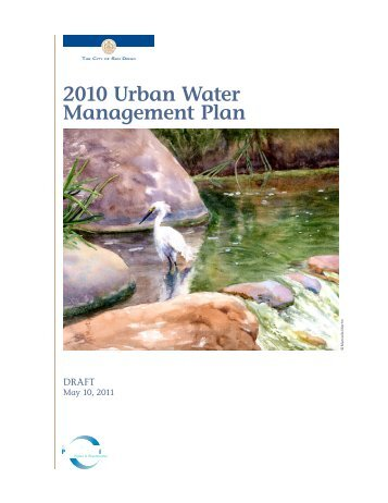 2010 Urban Water Management Plan - City of San Diego