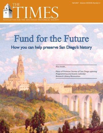 Download PDF - San Diego History Center
