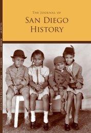 Summer 2011, Volume 57, Number 3 - San Diego History Center