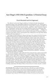 San Diego's 1935-1936 Exposition: A Pictorial Essay