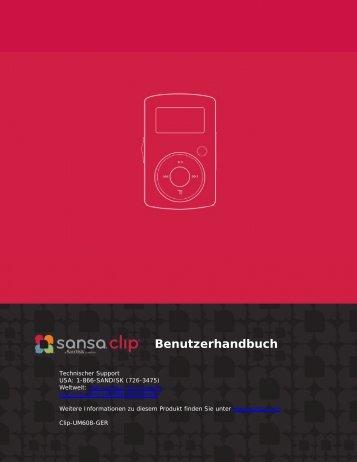 Benutzerhandbuch - SanDisk