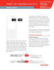 iNAND™ eSD Embedded Flash Drive - SanDisk