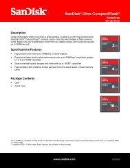 SanDisk Ultra® CompactFlash