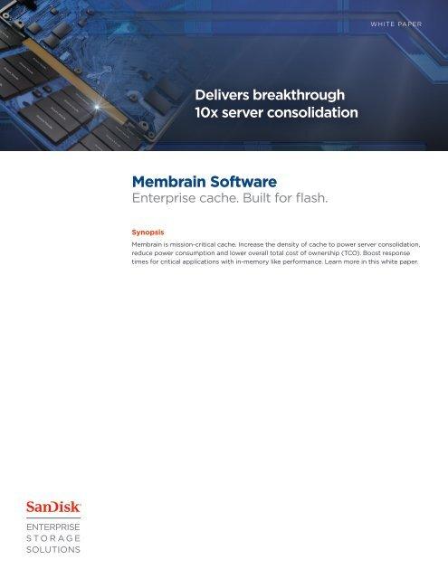 Membrain Software White Paper - SanDisk