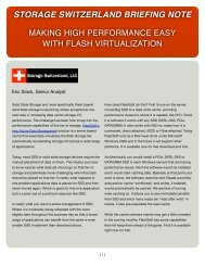 Making High Performance Easy With Flash Virtualization ... - SanDisk