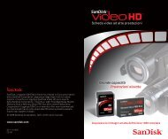 Scheda video ad alte prestazioni Grande capacità ... - SanDisk