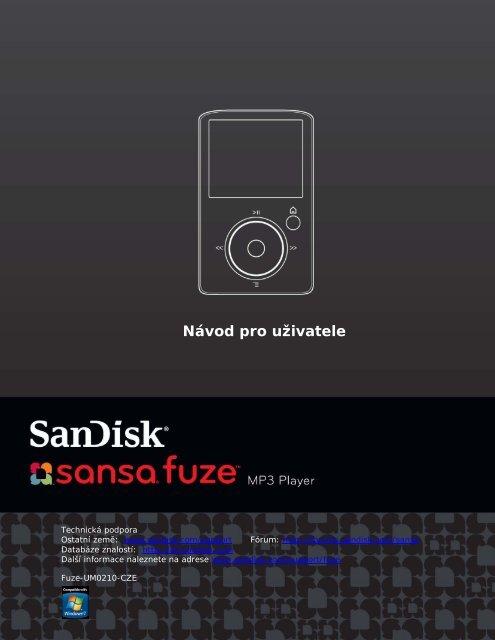 Návod pro uživatele - SanDisk