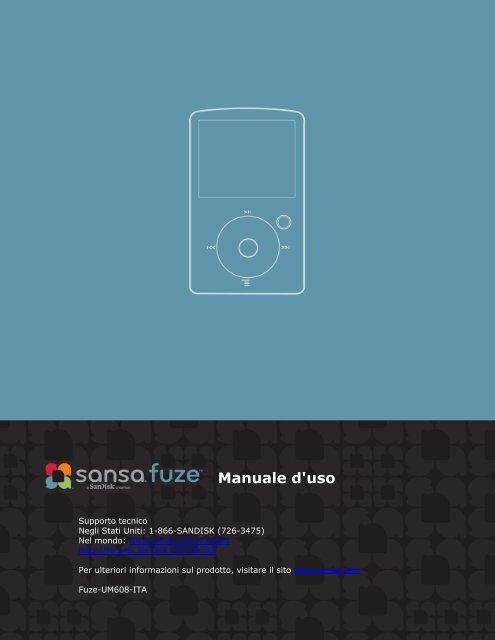 Manuale d'uso - SanDisk