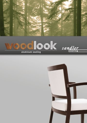 aluminum seating - Sandler Seating