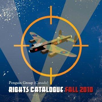 rights catalogue fall 2o010o rights catalogue fall 2o010o