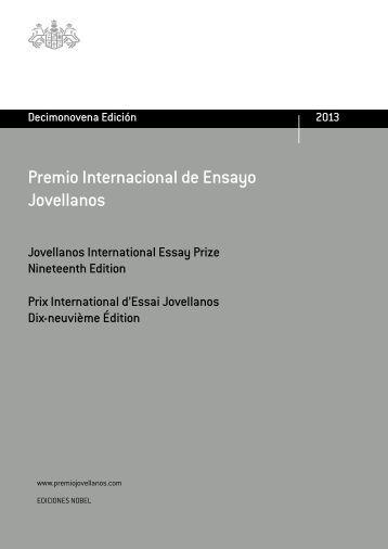 Premio Internacional de Ensayo Jovellanos