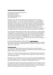 Avskrift av protokoll for hyttekomiteen fra 1939. - Sandvikens Bataljon
