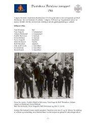 Sesongen 1964 - Sandvikens Bataljon