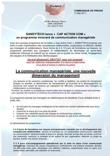 Formations CAP ACTION COM - Façon SANDYTECH
