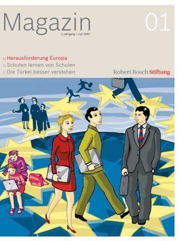 :: Herausforderung Europa :: Schulen lernen ... - Robert Bosch Stiftung