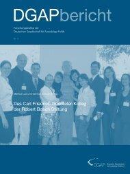 Das Carl Friedrich Goerdeler-Kolleg der Robert Bosch Stiftung
