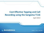 Download presentation - Sangoma