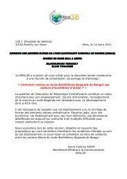 (REAL3), Samedi 26 Mars 2011 à - Sangonet