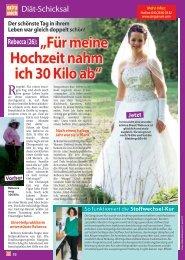 Sanguinum Pressebericht - Diät-Schicksal: Für meine Hochzeit ...