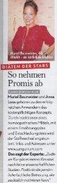 Sanguinum-Pressebericht - Muriel Baumeister - Diaeten der Stars ...