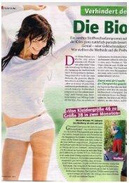 Sanguinum Pressebericht – Die Bio-Schlank-Spritze – Mai 2013