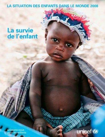 Situation des enfants dans le monde 2008 - Sangonet