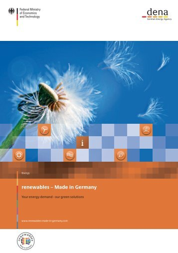 Image brochure - Renewables Made in Germany
