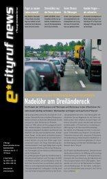 e*Cityruf News 2/2002 - e*Bos - Alarmierung
