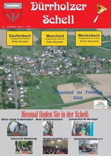 Gesamtausgabe - Gemeinde Dürrholz