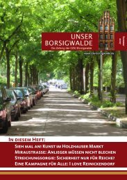 Unser Borsigwalde, Ausgabe 6, Sommer 2007 - Emine Demirbüken ...