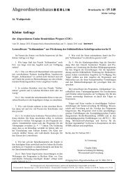 Kleine Anfrage mit Antwort als PDF - Emine Demirbüken-Wegner