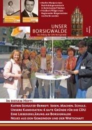 Unser Borsigwalde, Ausgabe 5, Sommer 2006 - Emine Demirbüken ...