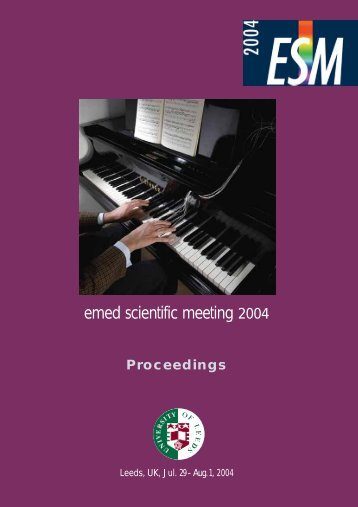 ESM 2004 Abstracts - Sangwoo Scientific Corp.