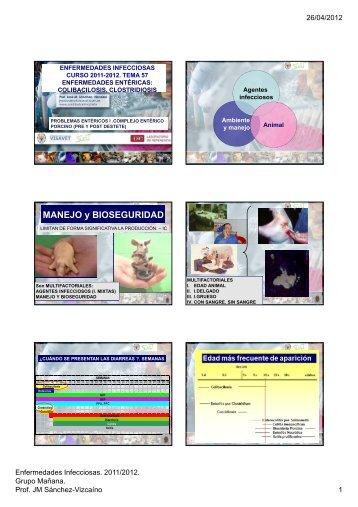 MANEJO y BIOSEGURIDAD - Sanidad Animal