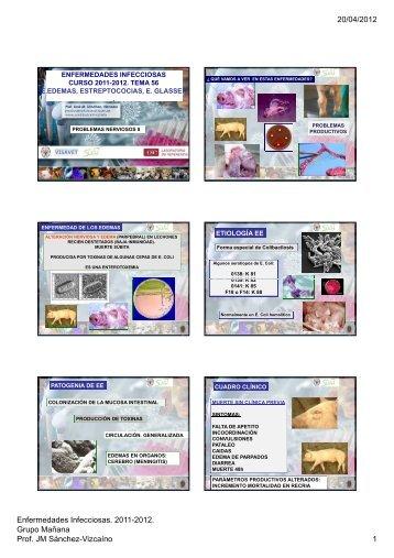 20/04/2012 Enfermedades Infecciosas. 2011 ... - Sanidad Animal