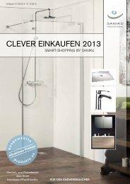 Clever einkaufen 2013 - Saniku
