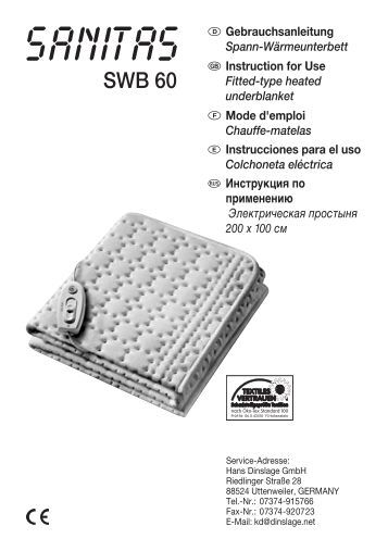 SWB 60 - Sanitas