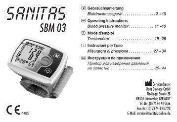 SBM 03 - Sanitas