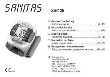 SBC 28 - Sanitas
