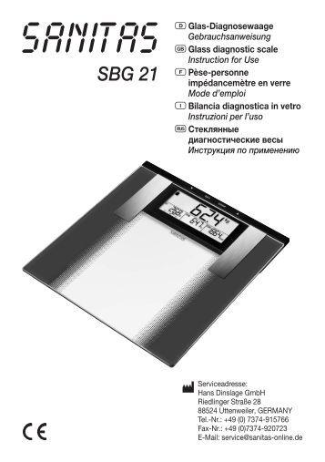 SBG 21 - Sanitas