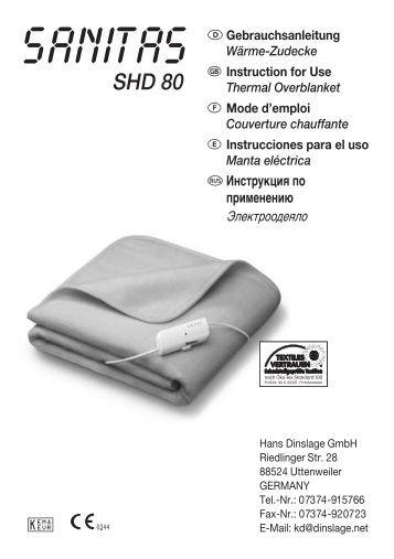 SHD 80 - Sanitas