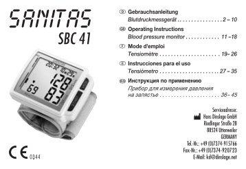 SBC 41 - Sanitas