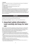 SHK 55 Easyfix - Sanitas - Page 6