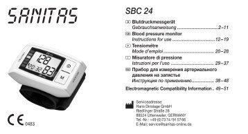 SBC 24 - Sanitas